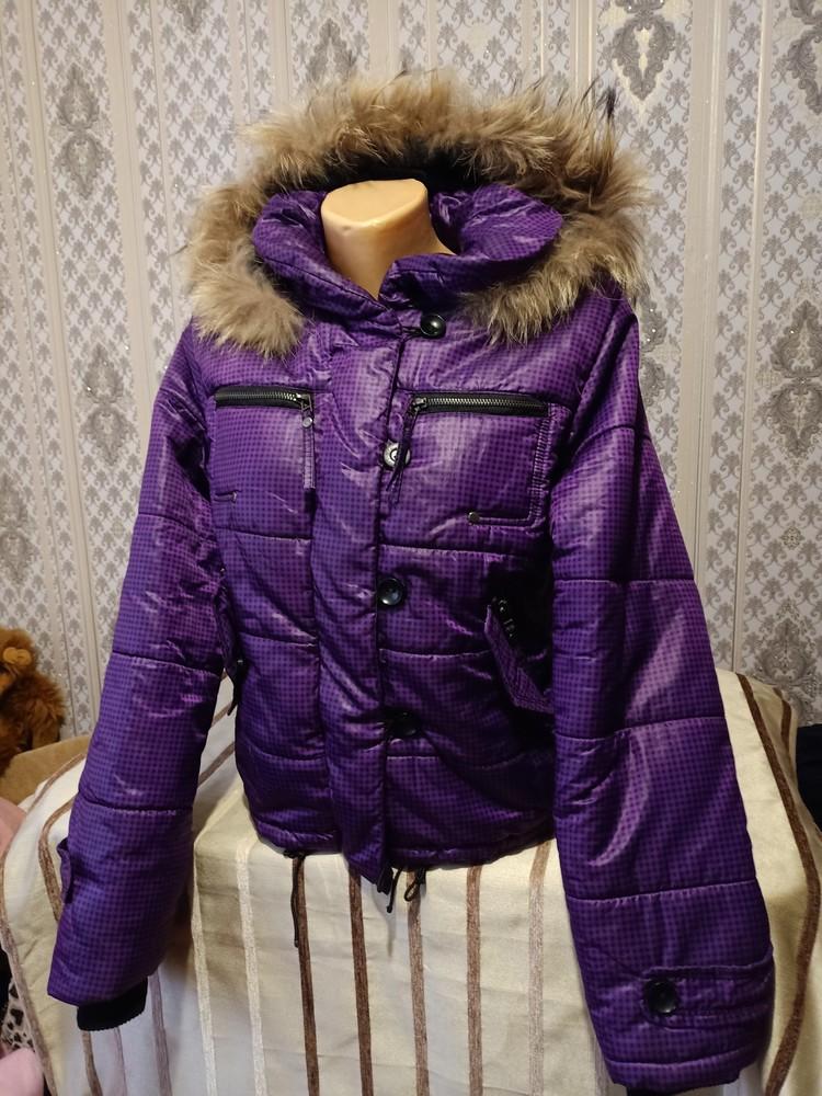 Теплая куртка. размер хл. фото №2