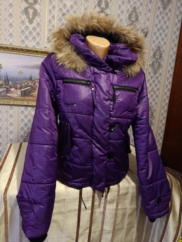 Теплая куртка. размер хл. фото №3