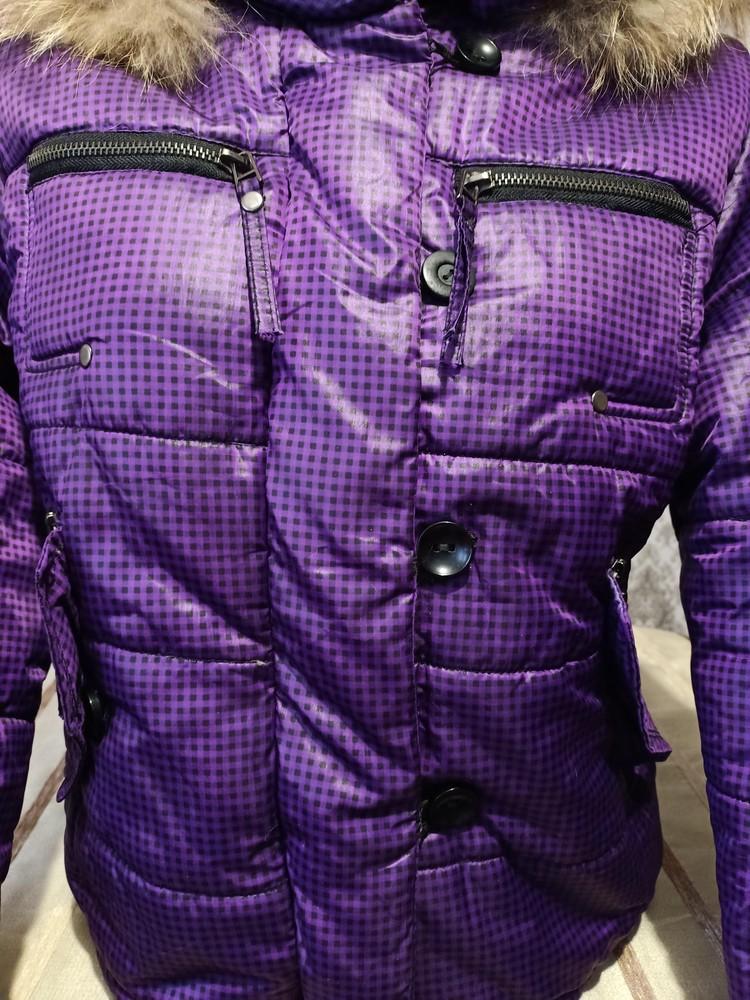 Теплая куртка. размер хл. фото №4
