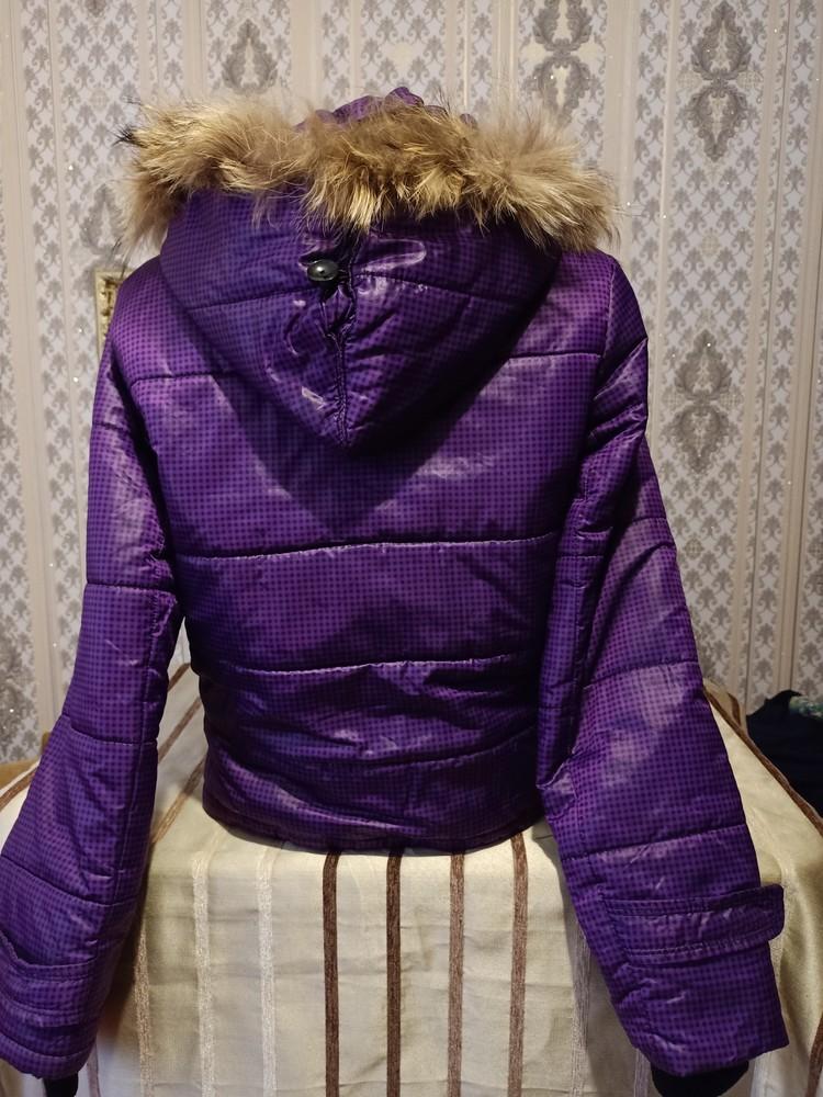 Теплая куртка. размер хл. фото №6
