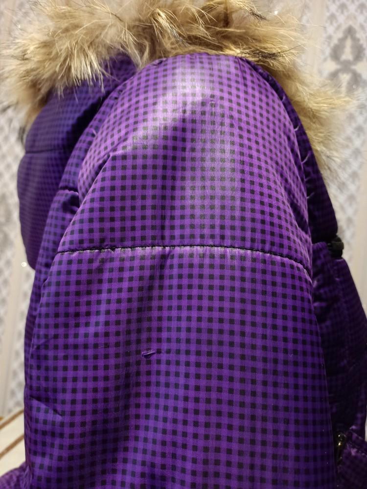 Теплая куртка. размер хл. фото №7