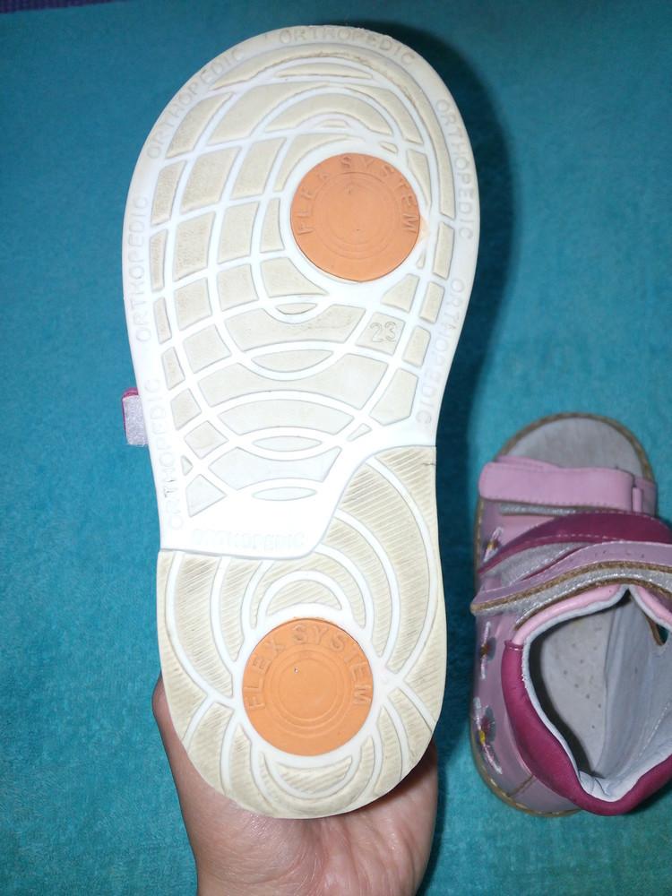Сандалии для девочки ортопедические 4rest-orto (полностью кожа), 23 р., стелька 15 см фото №5