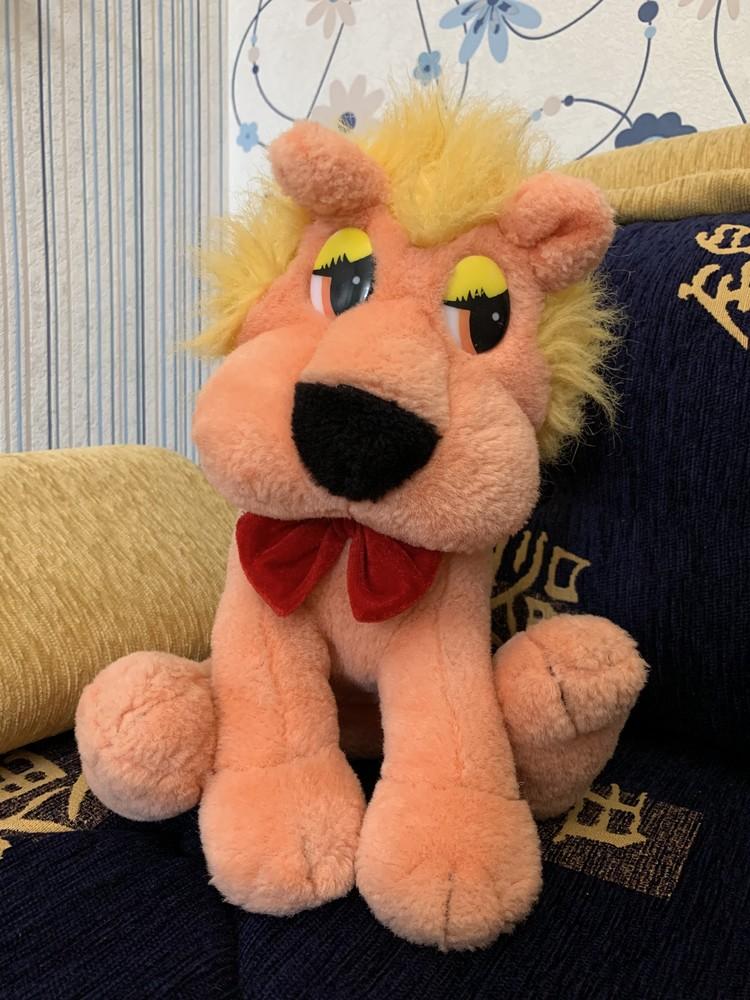 Мягкая игрушка. львёнок фото №1