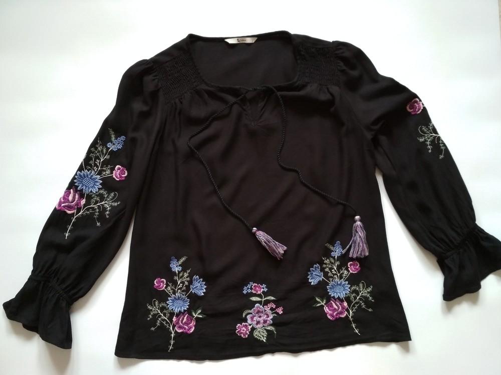 Кофта блуза с вышивкой, tu фото №2