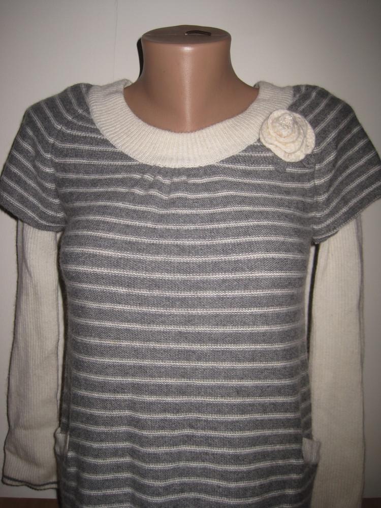 1/738. свитер для девочки. на 10-12 лет (см. замеры). monsoon. состояние нового!!! фото №2